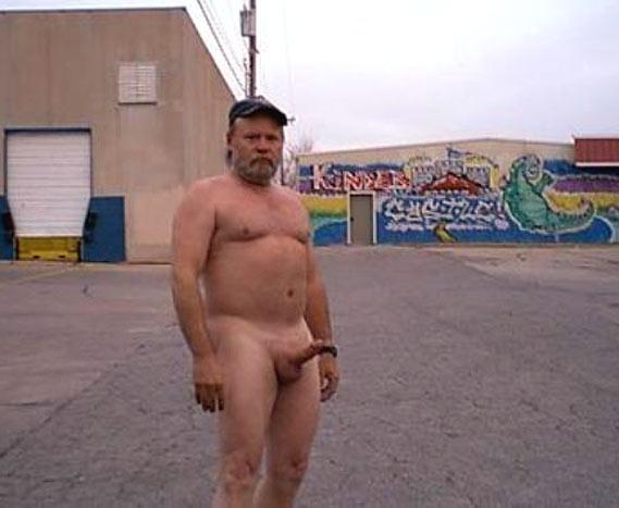 Naked hobo men
