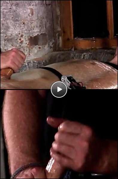 ass spanking hard video